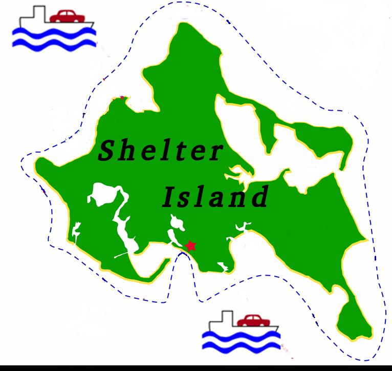 Road Map Of Shelter Island Ny